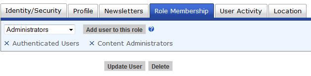 Role Membership